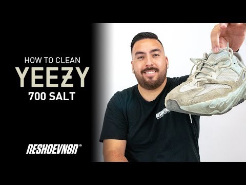 The Best Way To Clean Adidas Yeezy 700 Salt With Reshoevn8r!