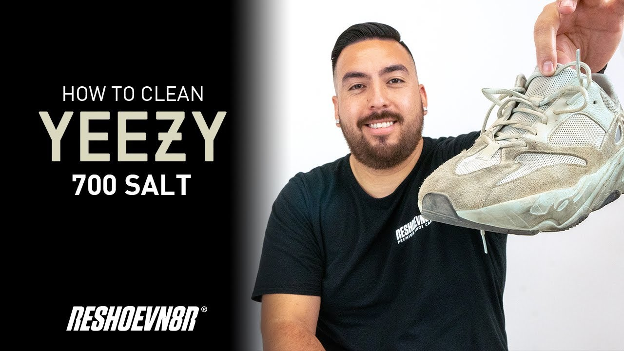 The Best Way To Clean Adidas Yeezy 700