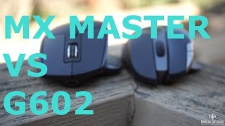 Logitech MX Master VS. G602 - Which Wireless Mouse Comes Out On Top?