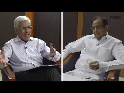 5 Years of Modi BJP Government Reality Check by P Chidambaram interview by Karan Thapar