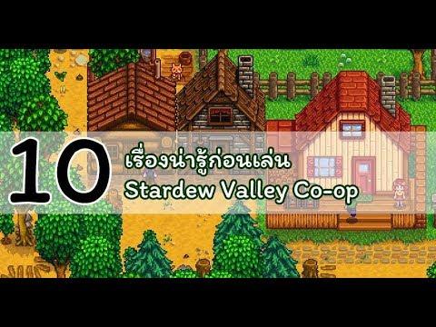 10 เรื่องน่ารู้ก่อนเล่น coop ใน Stardew Valley