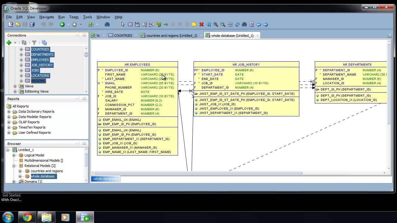 Oracle Sql Developer Entity Relationship Diagram 1996 Ezgo Txt Gas Wiring Er : Sqlvids - Youtube