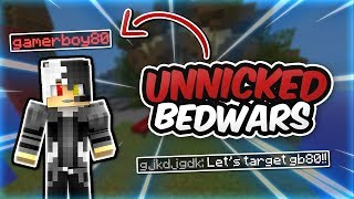 YOUTUBER in my game?! - Unnicked Bedwars