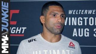 UFC on ESPN 5: Claudio Silva post-fight interview