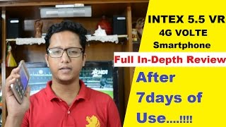 Intex Aqua 5.5 VR Full Indepth Review After 7 days of Use | Data Dock