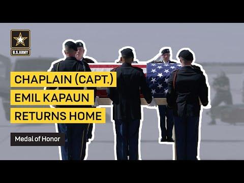 Chaplain (Capt.) Emil Kapuan Returns Home
