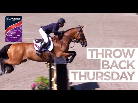 McCrea wins season opener at Bromont #ThrowbackThursay | Longines FEI World Cup™ Jumping NAL
