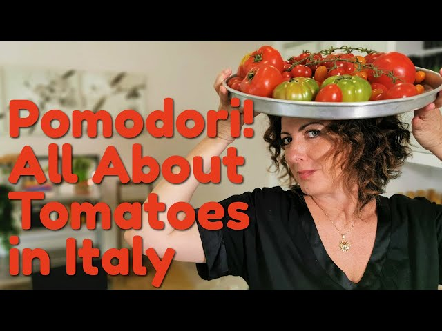 Pomodori! All About Tomatoes in Italy