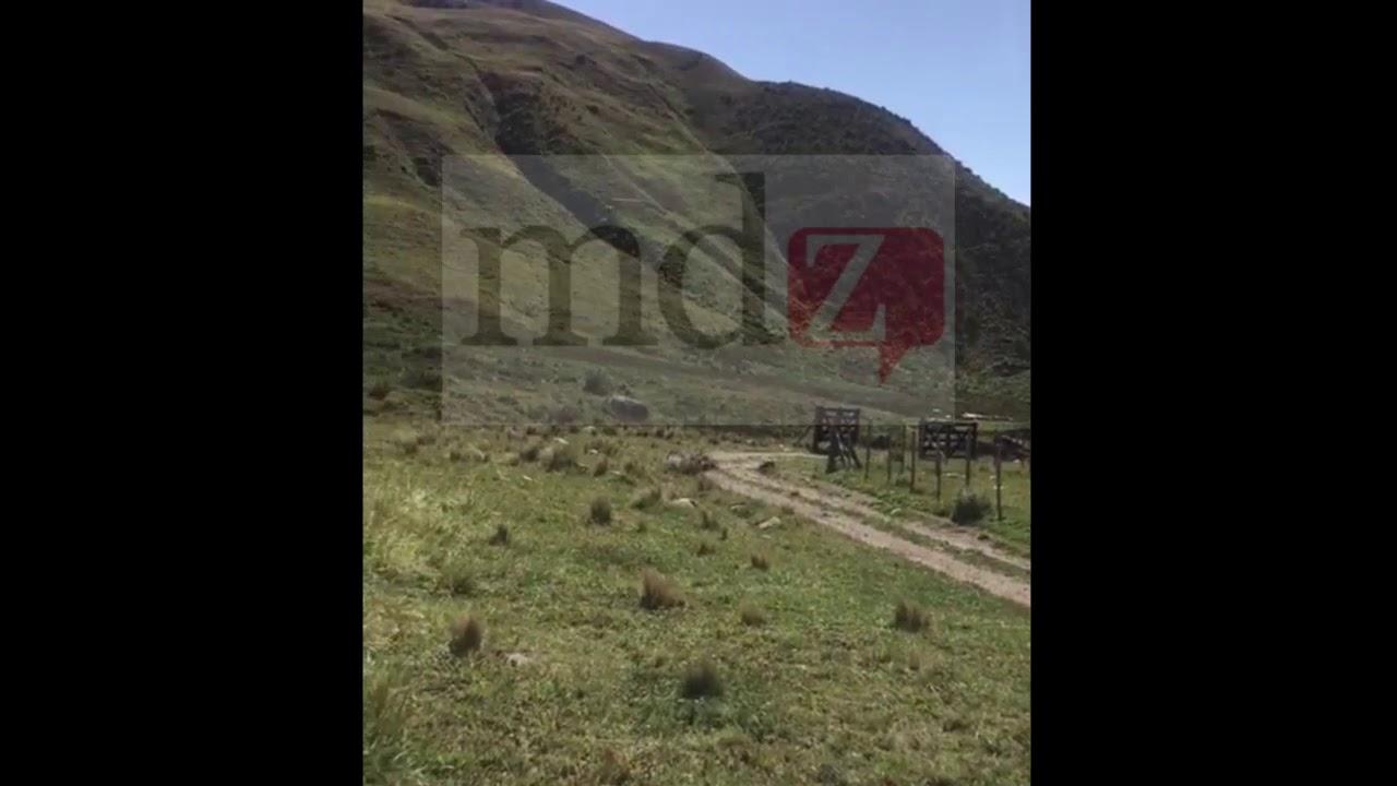 Así cayó el helicóptero en Tupungato (Mendoza)