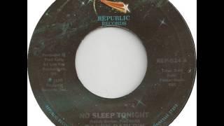 """Randy Barlow """"No Sleep Tonight"""""""