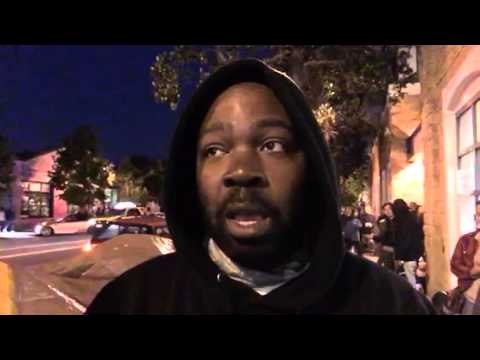 SFPD Greg Surh Protest - Interview With Ike, Hunger Strike Leader Part 1