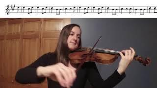 O Come Little Children Violin Duet Play-a-Long