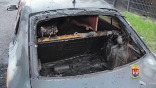 В Калининграде полицейские раскрыли поджог автомобиля