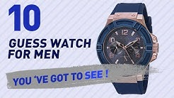 Top 10 Guess Watch For Men // New & Popular 2017