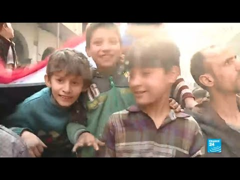 Syria: Assad's regime invites foreign media to paint a different picture of war-torn Eastern Ghouta