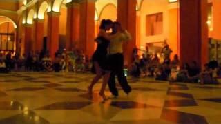 Emiliano y Pamela Festival Tango Rosso Cagliari 2011