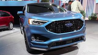 2019 Ford Edge ST Close Up Look! NAIAS 2018
