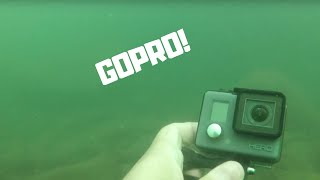 River Finds FOUND 2 APPLE WATCHES! Found GoPro Using Dive Portable Lungs