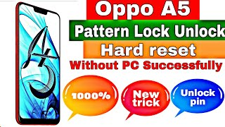 How to unlock phone oppo a5