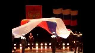 """Школа """"ПОЛЮС"""" выступление на день милиции в дкме. г.Находка"""