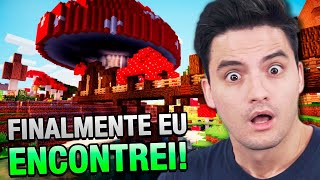 ENCONTREI A ILHA COGUMELO NO MINECRAFT #40 [+10]