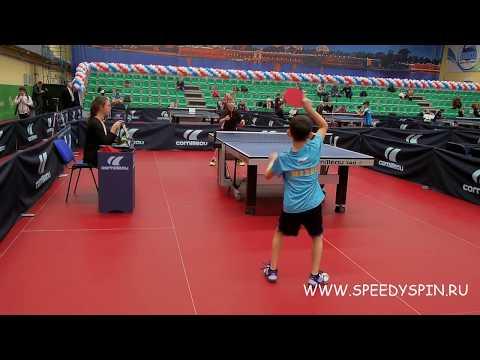 Tsvetkov - Shubin.XX Nikolay Nikitin Table Tennis Memorial 2019.FHD