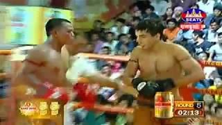 Nachibderjellody France Vs Him Sarun Cambodia, Khmer Warrior Seatv Boxing 21 July 2018