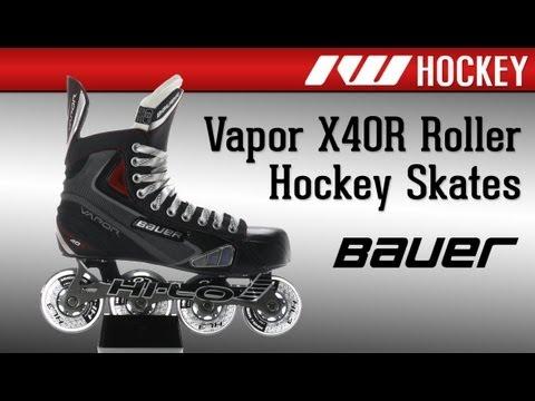 Bauer Vapor X40R Roller Hockey Skates Review