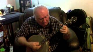 """Chimes Blues"" (King Oliver) Eddy Davis Banjo"