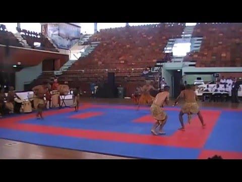 DJOKAN demo in Suriname - Closing of the 1st Caribbean Karate Championship