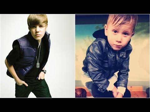 Justin Bieber and Jaxon Bieber Baby Photos