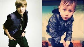 Justin Bieber and Jaxon Bieber Baby Photos