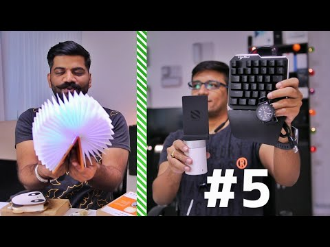 Weekend Surprise Unboxing #5 - Fastest Wireless Charger, Book Lights Ft Technical Guruji