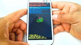 Hard Reset Samsung Galaxy S3 GT-i9300, I9305, como formatar, desbloquear, restaurar