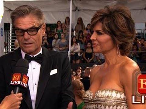 The 65th Emmy Awards Red Carpet: Harry Hamlin & Lisa Rinna