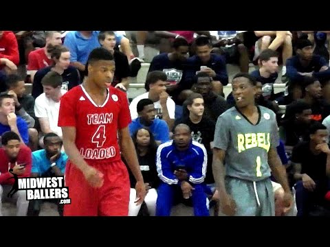 Trae Jefferson vs Dennis Smith Jr! TOP High School Point Guards FACE OFF At NY2LA Summer Jam