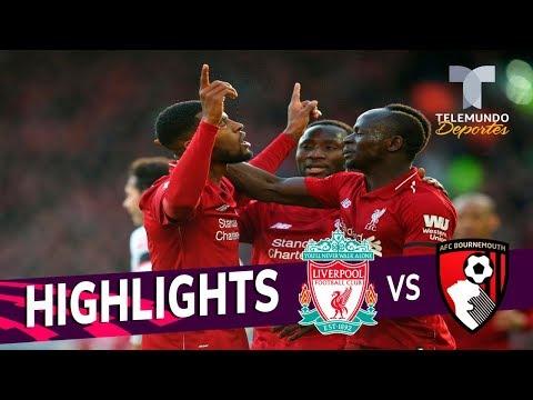 Liverpool vs. Bournemouth: 3-0 Goals & Highlights | Premier League | Telemundo Deportes