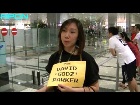 David 'GODZ' Parker Arrives in Singapore!