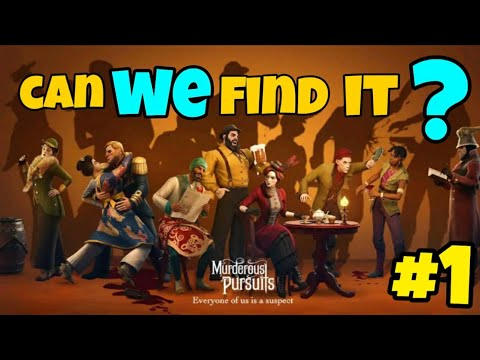 Can we find it ? || Murderous Pursuits Gameplay || Stud Gamer |