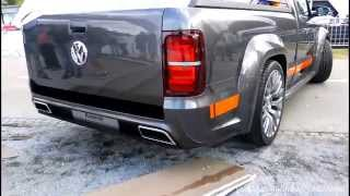 VW Amarok Power V6 Sound!!!