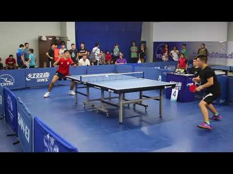 Selectivo Inf-Juv 2018: Andres Martinez vs Jorge Paredes - Final Fase 2 Juvenil Varones
