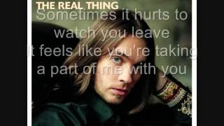 Bo Bice The Real Thing With Lyrics