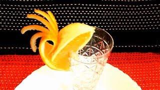 3 ВКУСНЫХ ИДЕИ Украшения из АПЕЛЬСИНА - Праздничный стол & Украшения из фруктов - Карвинг апельсина