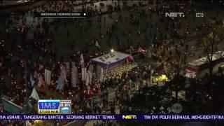 Demonstrasi Menuntut Turunnya Presiden, Korea Selatan Park Geun-hye