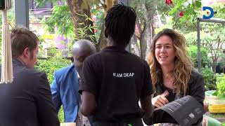 ''I am deaf''_Nairobi Cafe with a multitalented and hearing impaired staff_Special Feature