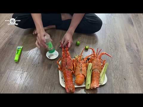 How To Steam Lobster With Beer| Delicious Foods