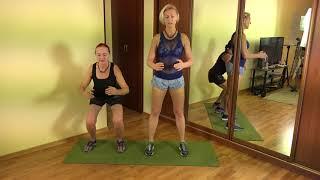 Выпуклые коленки можно вылечить. Пример от мамы в 70 лет. Squat. NLP-Fitness