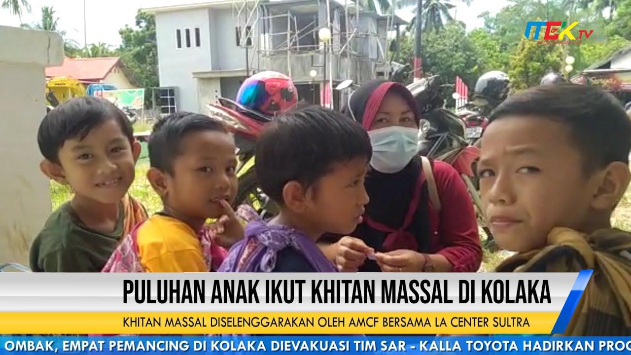 Puluhan Anak Ikut Khitan Massal di Kolaka