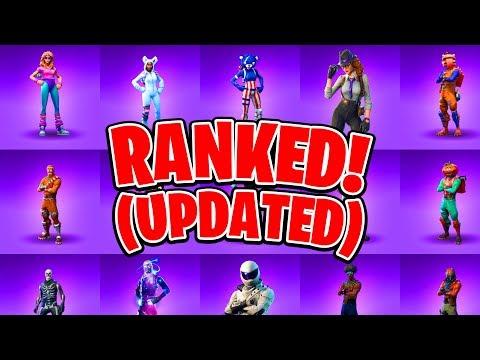 Ranking ALL 58 Epic Fortnite Skins! (Fortnite Battle Royale All Skins Ranked) #SoaRRC