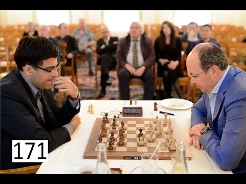 Anand sacrifices his Queen against Millionaire